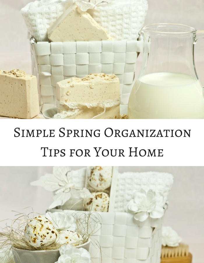 Simple spring organization tips for your home