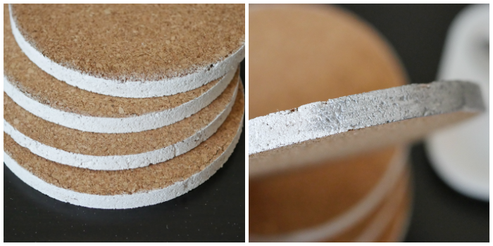 paint cork coasters