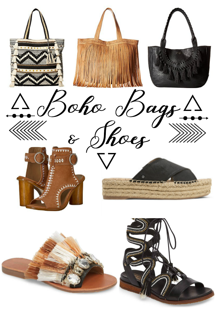 Shop Therapy Friday - boho bags and shoes