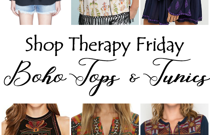 Shop Therapy Friday – Boho Tops & Tunics