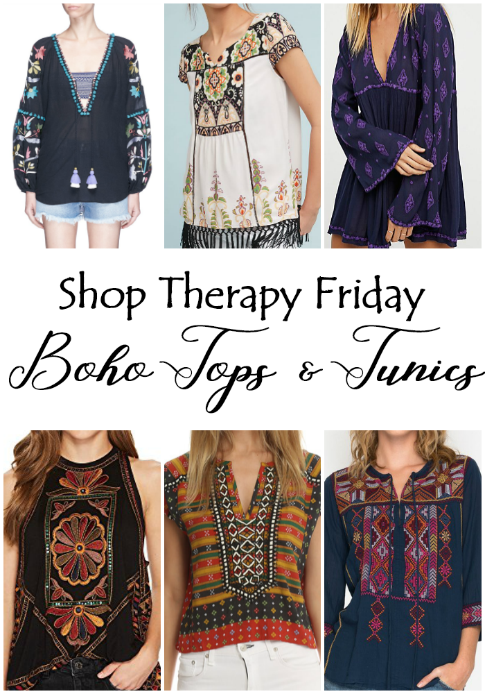 Shop Therapy Friday - Boho Tops & Tunics