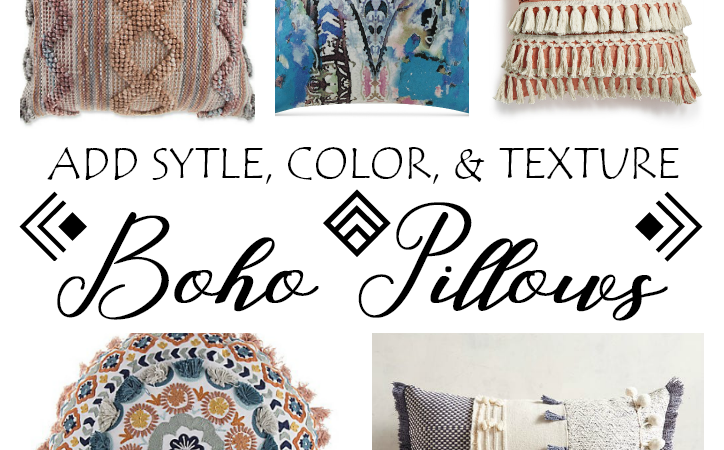 Shop Therapy Friday – Boho Pillows
