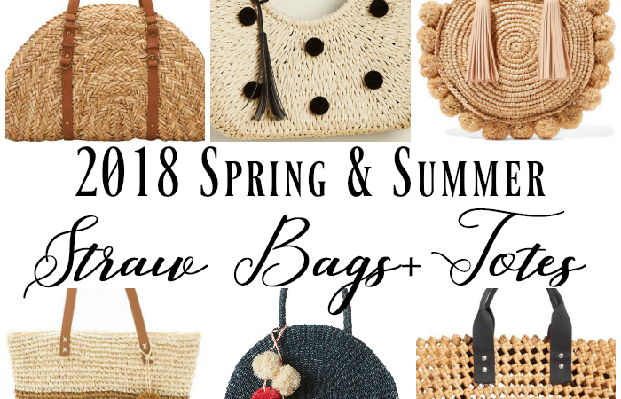 Spring & Summer straw bags and totes