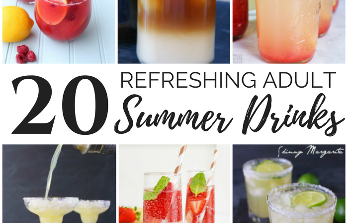 20 refreshing adult summer drinks