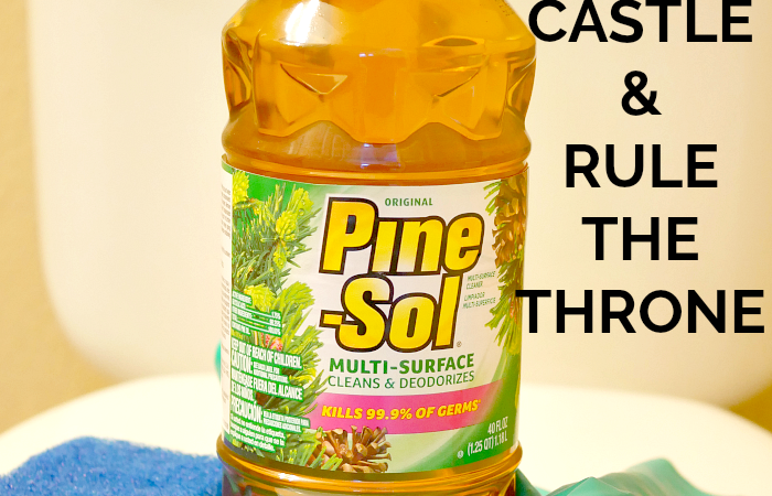 How I Rule The Throne, My Way with Pine-Sol®