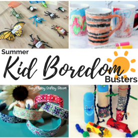 Summer kid boredom busters