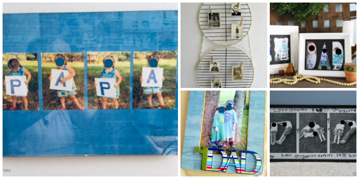 DIY Father's Day Photo Gift Ideas