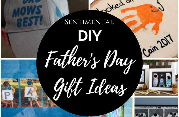 b8676531 Sentimental DIY Father's Day Gift Ideas - Merry Monday Link Party #208