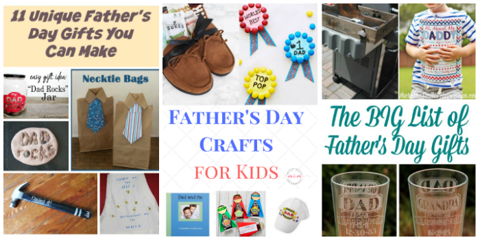 DIY Father's Day Gift Ideas Roundup