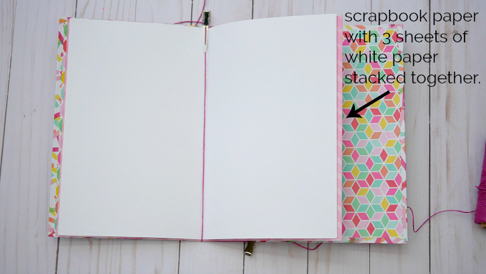 Paper pages for DIY Journal Book