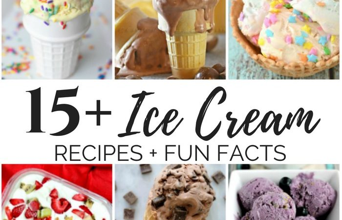 15+ Frosty Ice Cream Recipes & Fun Facts