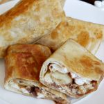 Nutella Peanut Butter Banana S'more Burritos