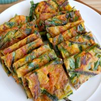 Savory Vegetable Pancakes Recipe - July Pinterest Challenge