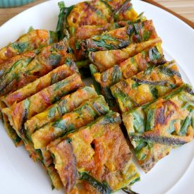 Savory vegetable pancakes recipe