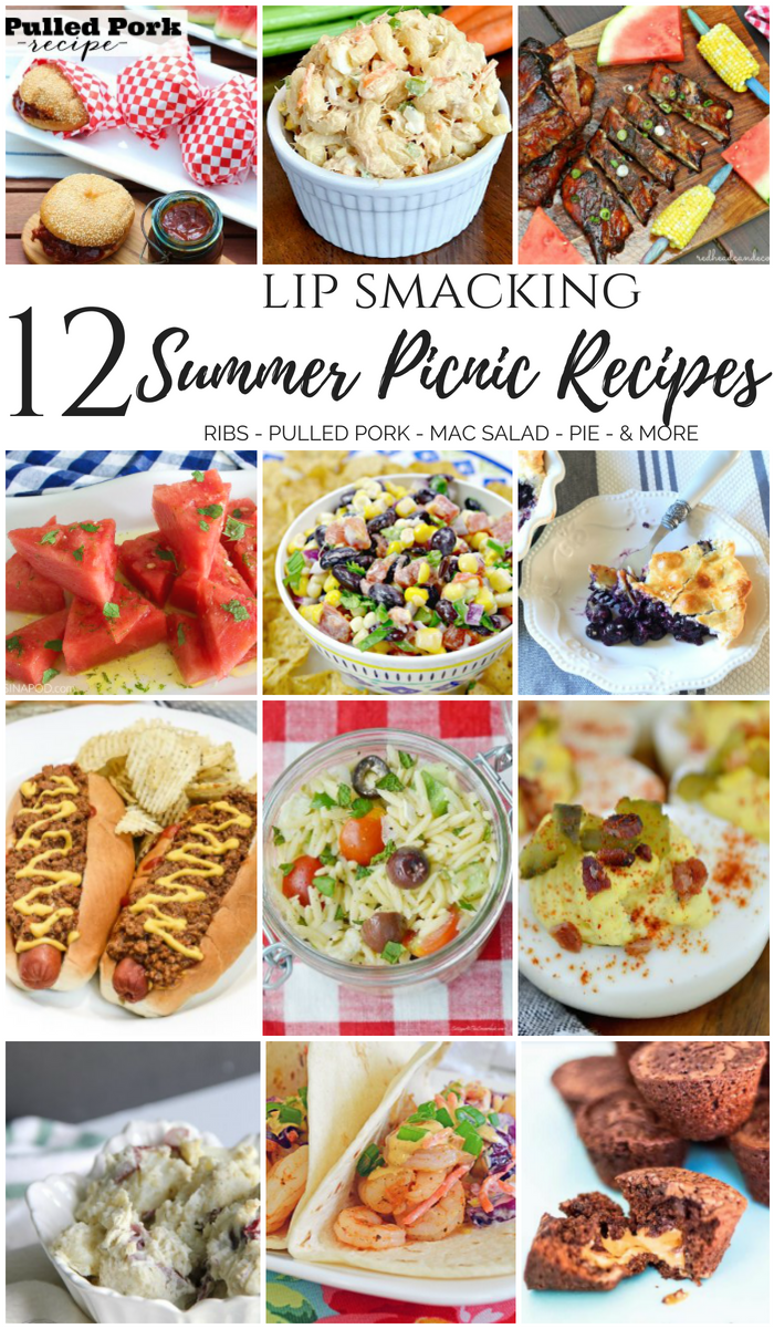 12 lip smacking summer picnic recipes