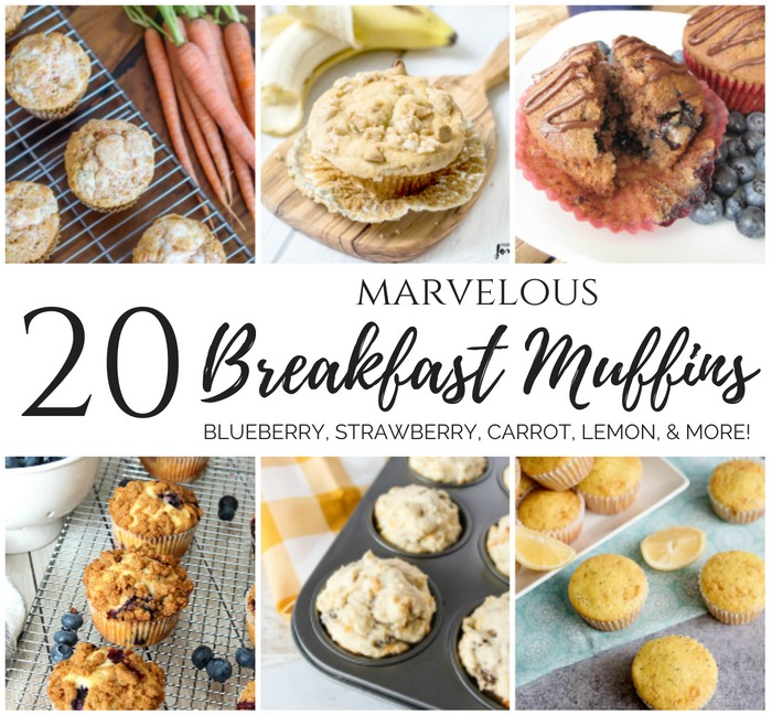 20 Marvelous Breakfast Muffins for back to school