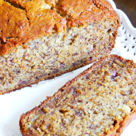 Bananalicious Banana Bread Recipe