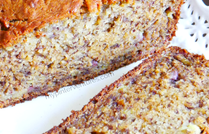 Bananalicious Banana Bread