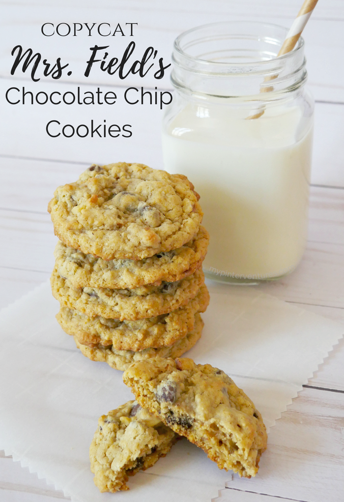 Copycat Mrs. Field's Chocolate Chip Cookies