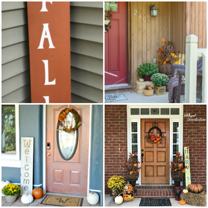 Simple DIY Fall Home Decorations for the porch