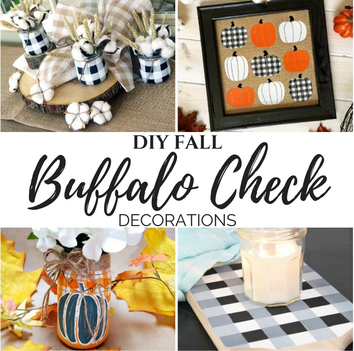 DIY Buffalo Check Fall Decorations slider