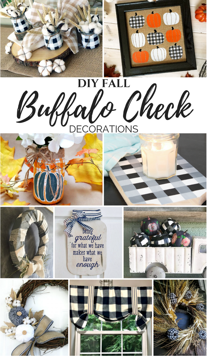 Diy Buffalo Check Fall Decorations My Pinterventures