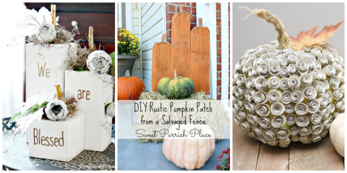 DIY Fall Pumpkin Ideas -1