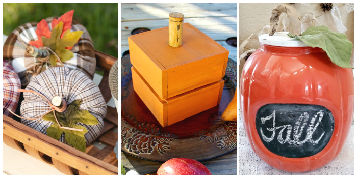 DIY Fall Pumpkin Ideas 2
