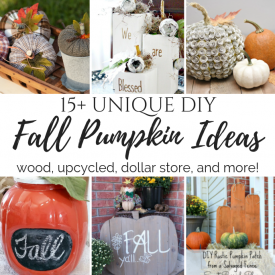 DIY Unique Fall Pumkin Ideas