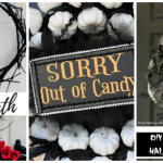 10 DIY Halloween Wreath Ideas with Tutorials