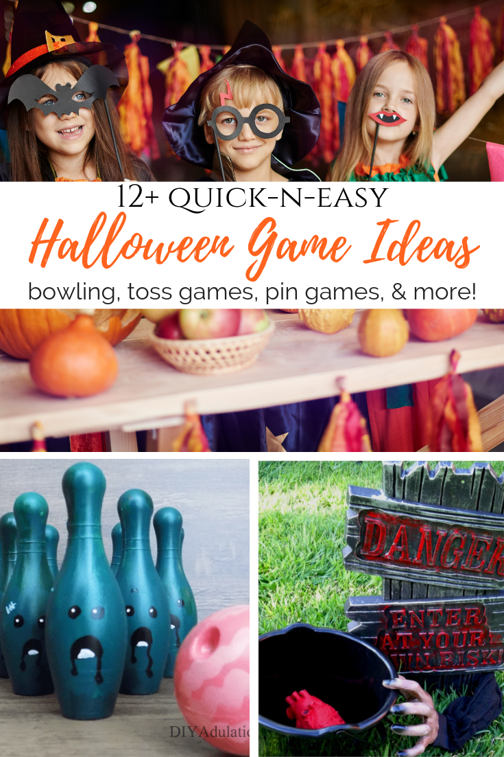 12+ Quick-n-Easy Halloween Game Ideas