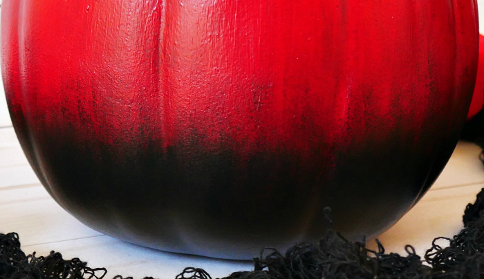 ombre pumpkin closeup