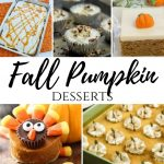 Fall Pumpkin Desserts – Merry Monday Link Party #227