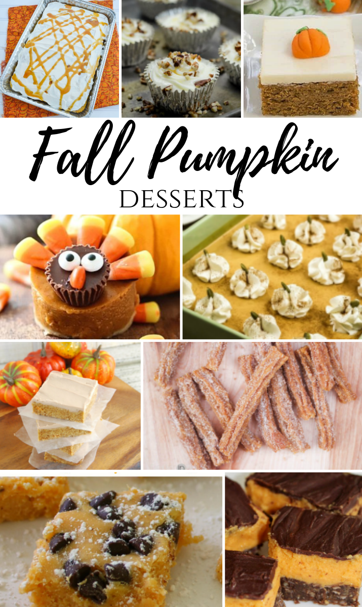 Fall Pumpkin Desserts