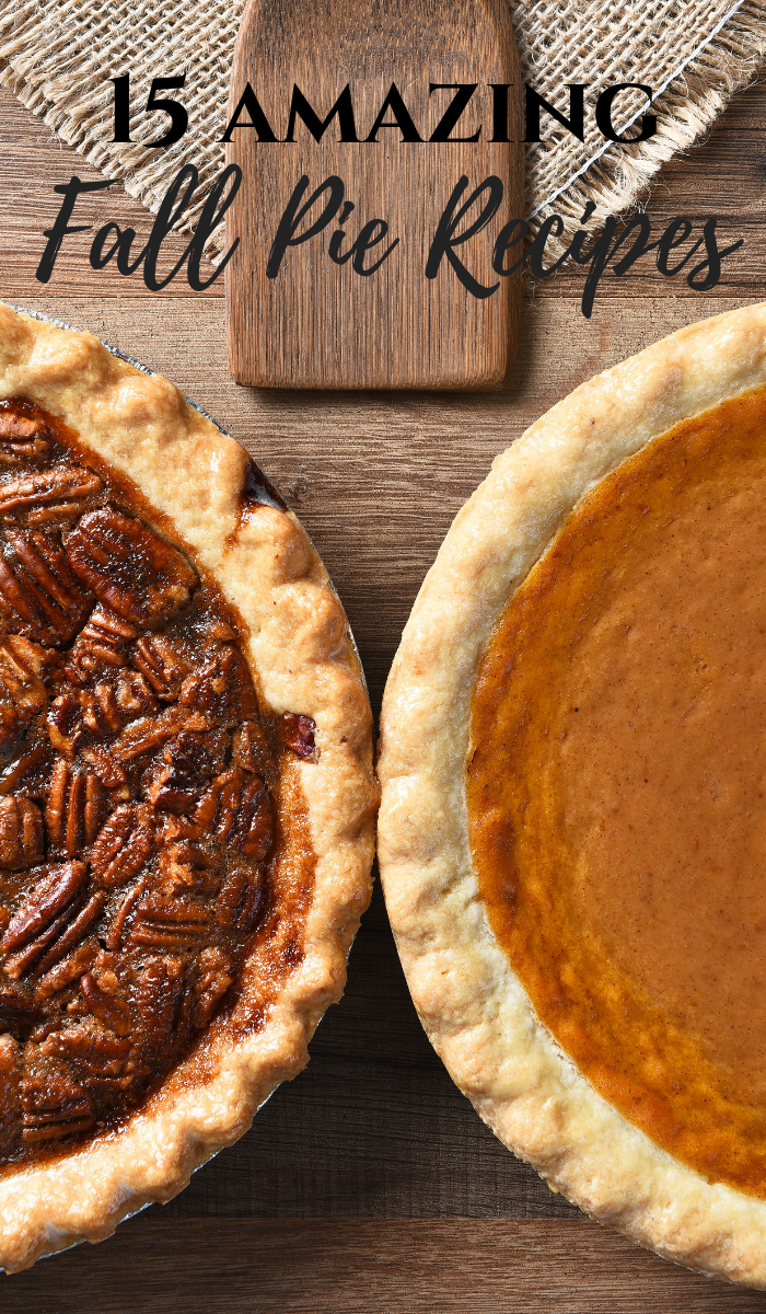 15 Amazing Fall Pie Recipes