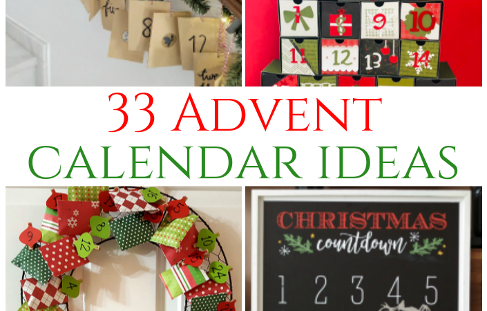 33 Advent Calendar Ideas