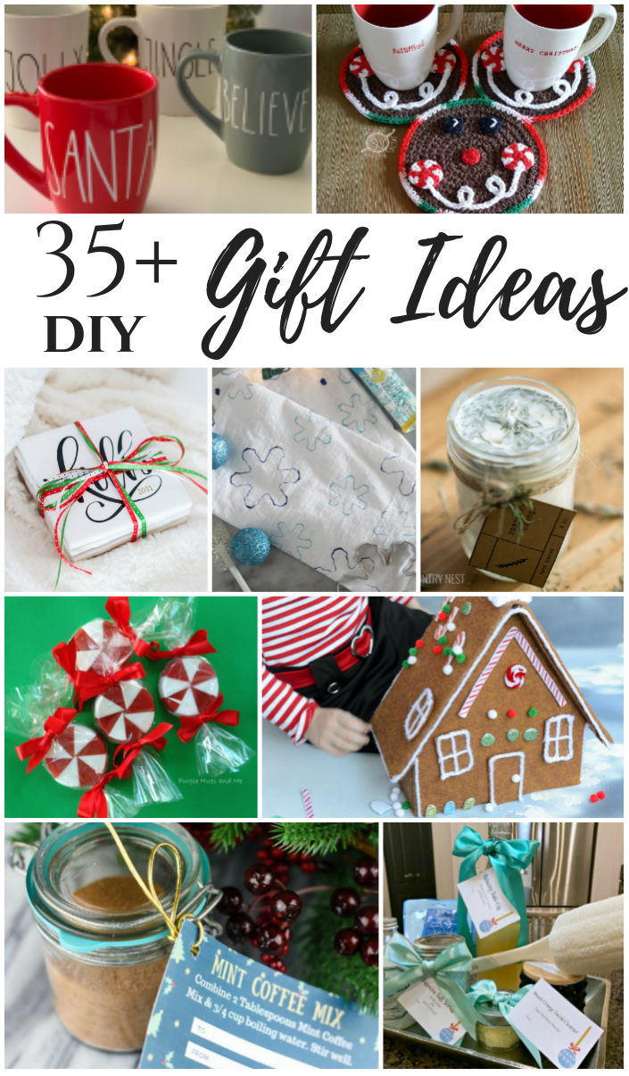 38 DIY Gift Ideas