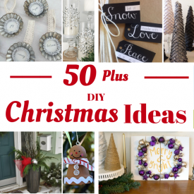 Over 50+ of THE Best DIY Christmas Ideas
