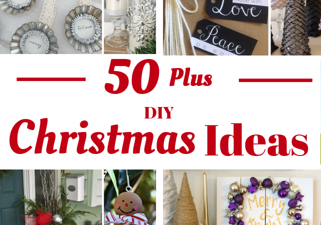 Over 50+ of THE Best DIY Christmas Ideas – 12 Days of Christmas Kick-off!