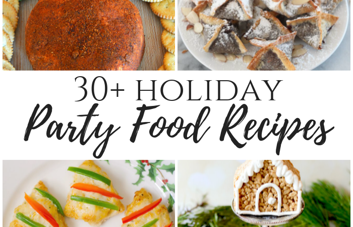 34 Holiday Party Food Recipes – #12DaysofChristams Day 5