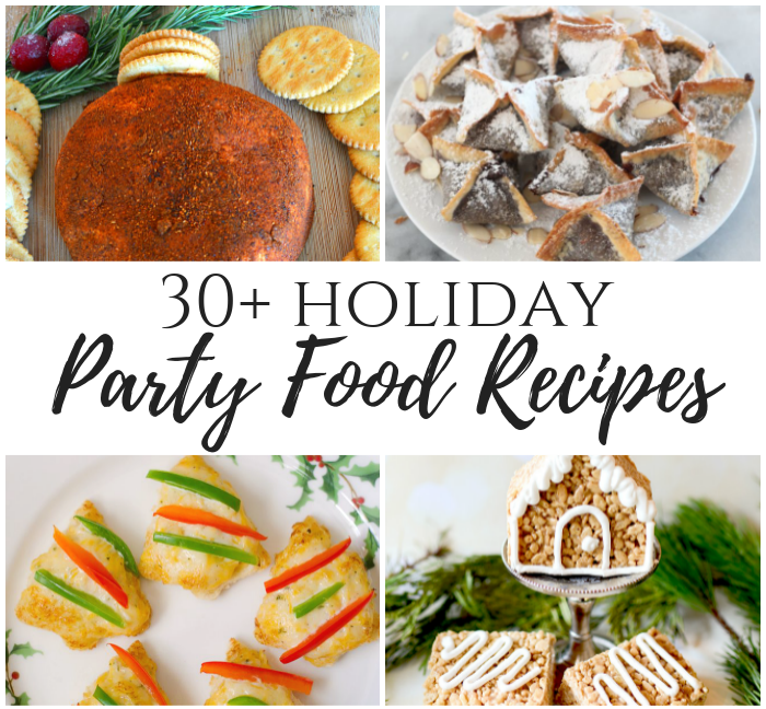 30+ Holiday Party Food Recipes