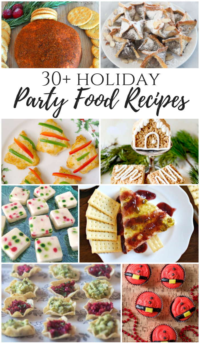Holiday Party Food Recipes