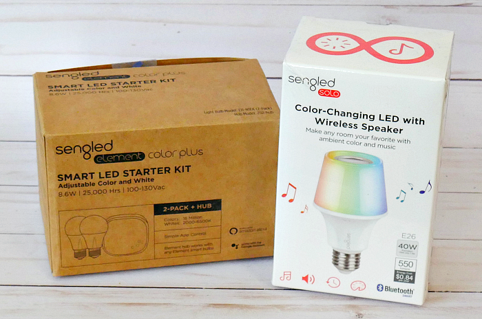 Sengled Starter Kit & LED Speaker