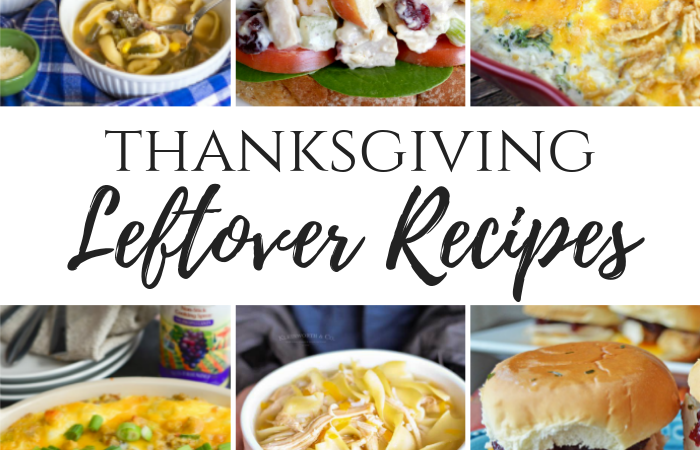 Thanksgiving Leftover Recipes – MM Break