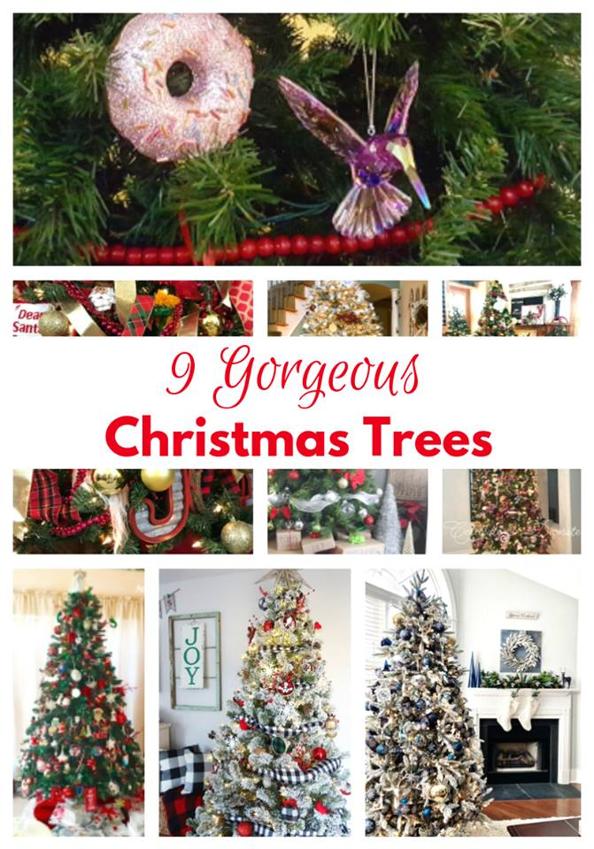 Christmas tree blog hop day 1