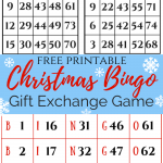 Christmas Bingo Gift Exchange slider