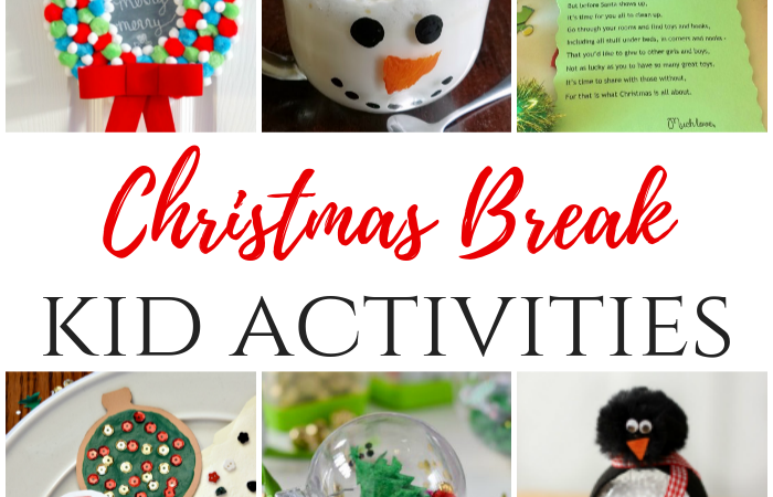 Christmas Break Kid Activities