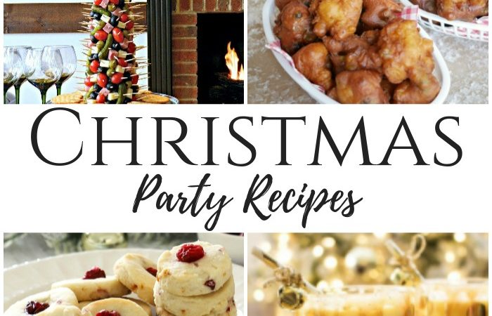 Christmas Party Recipes – The Cooking Housewives