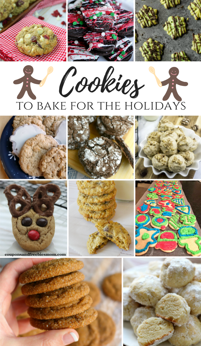 Cookies to bake for the holidays