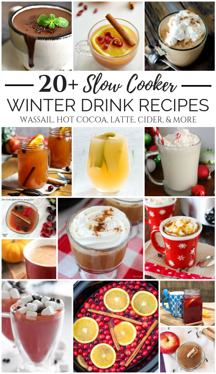 Slow Cooker Winter Drink Recipes